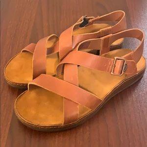 Leather Wayfarer Chaco sandals